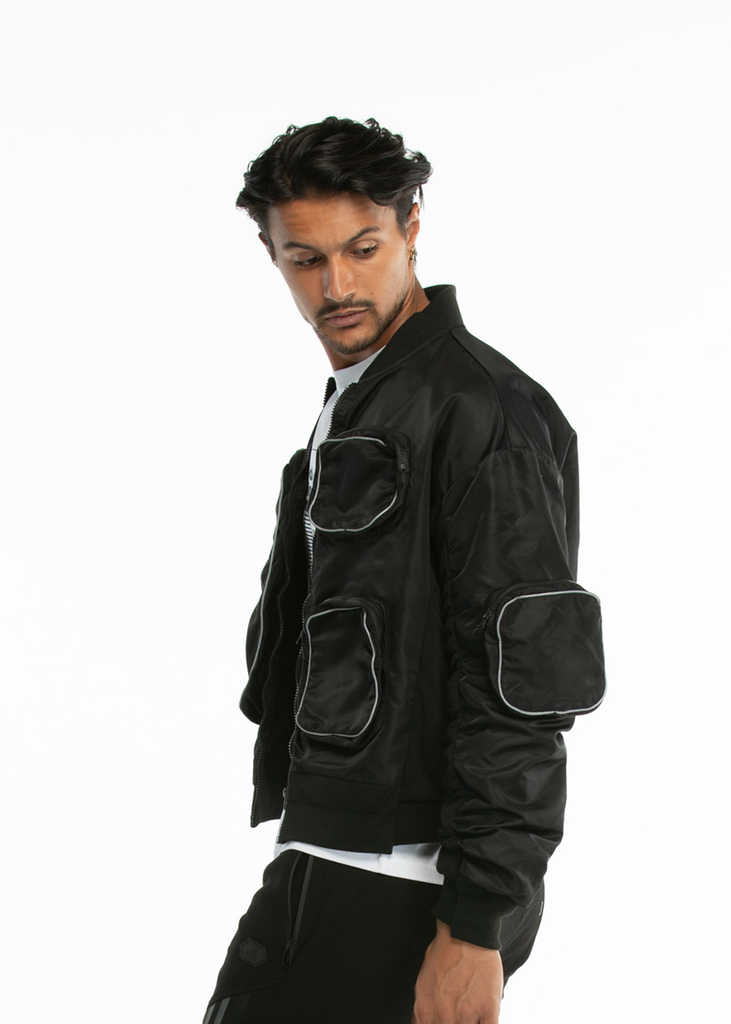 Essentials Signature Men's Black Jacket - Limited Edition