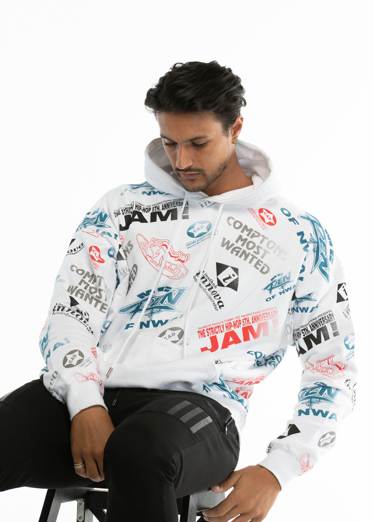 "Essentials Mens printed  ""Jam"" hoodie - Limited Edition"