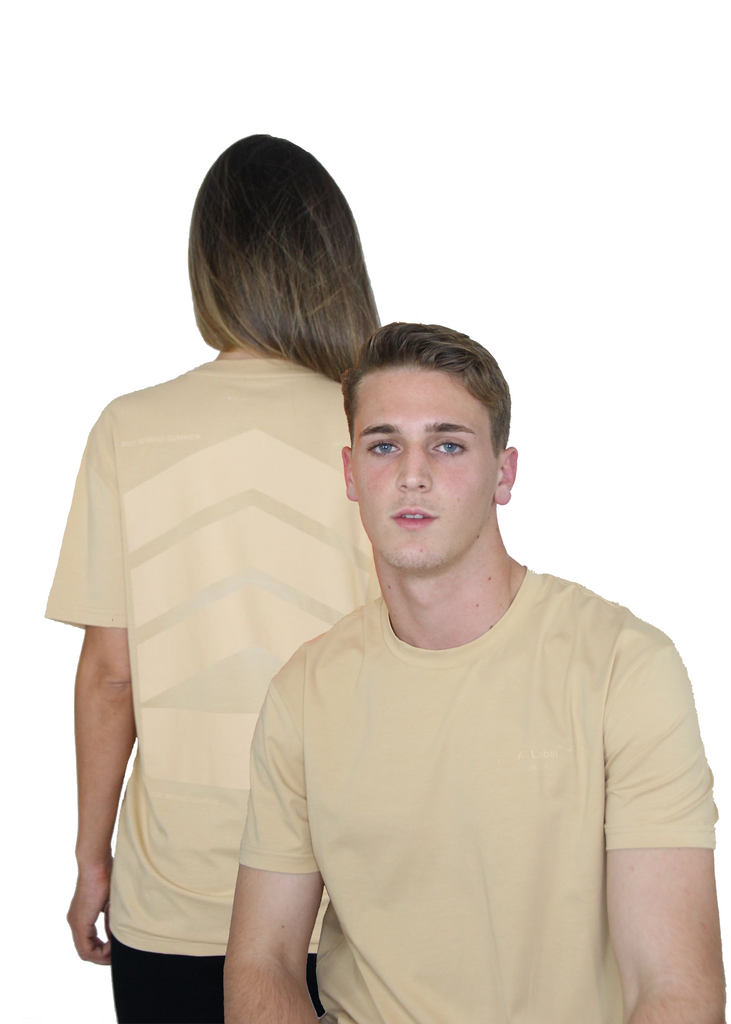 Essentials Men's Logo stretch-cotton T-shirt - Beige