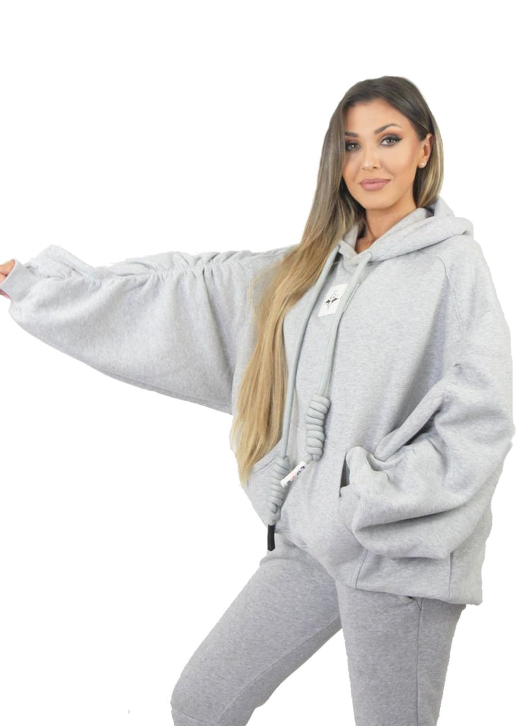 Essentials Womens Hoodie, Grey - Limited Edition