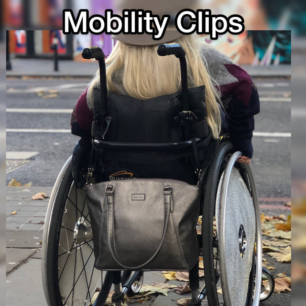 Mia Tui Buggy Clips Mobility Walker / Wheelchair Handbag Clips