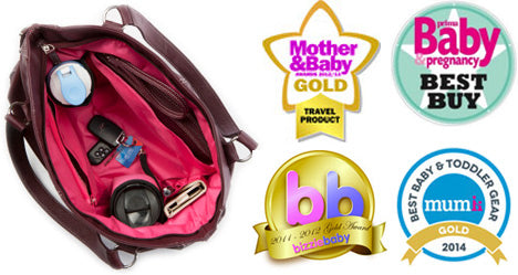 trendy baby changing bags