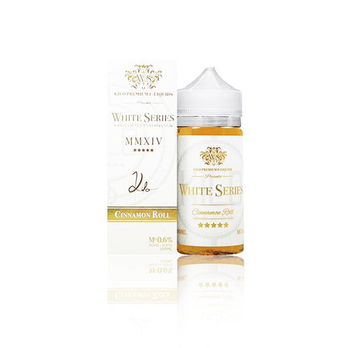 Kilo White Series Collection 100ml Vape Juice