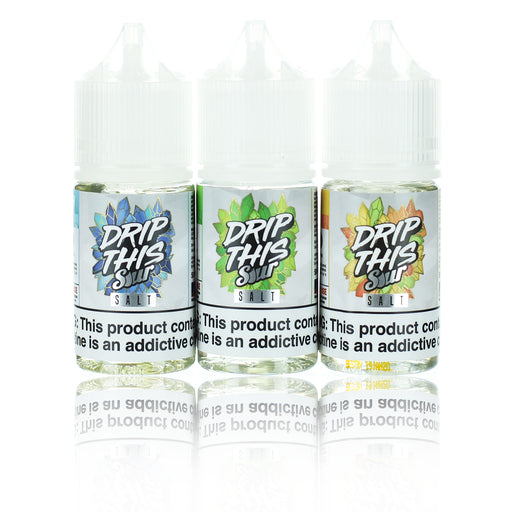 Drip This Sour Salts Collection 30ml Nic Salt Vape Juice