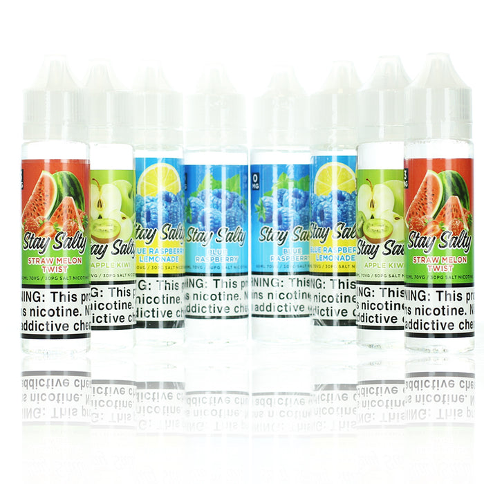 Stay Salty Collection 120ml Vape Juice