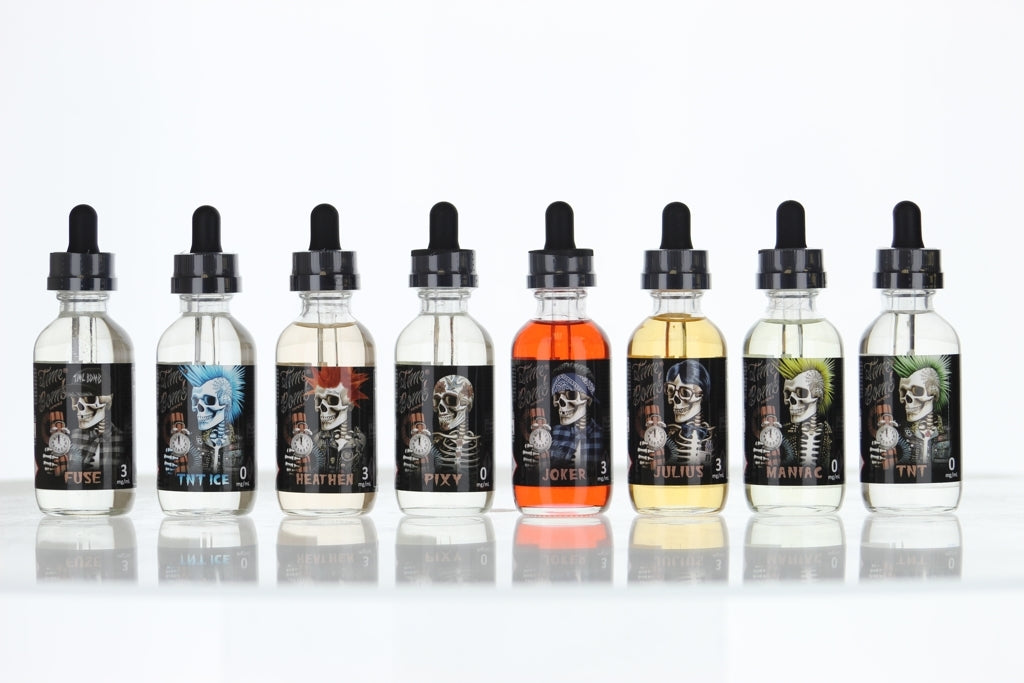 Time Bomb Vapors Collection 120ml Vape Juice