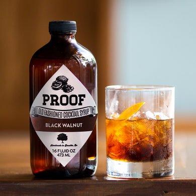 Black Walnut Proof Syrup