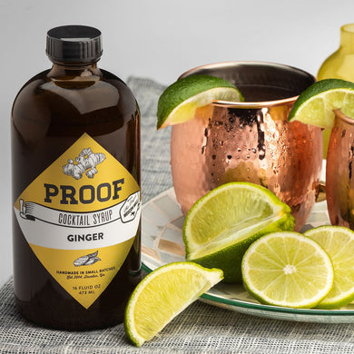 NEW Ginger Proof Syrup