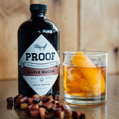 maple bacon proof syrup