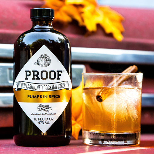 NEW Pumpkin Spice Proof Syrup