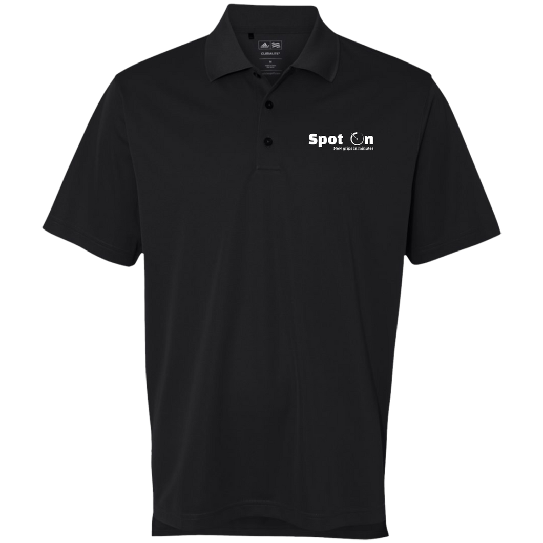 Spot On Logo'd Adidas Golf ClimaLite Polo