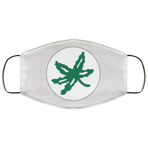 Buckeye Leaf Face Mask