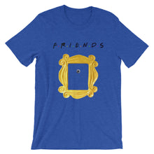 "Load image into Gallery viewer, Friends ""Peephole Frame"" Unisex T-Shirt"