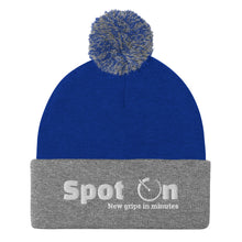 Load image into Gallery viewer, Spot On Logo'd Pom-Pom Beanie