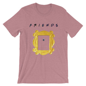 "Friends ""Peephole Frame"" Unisex T-Shirt"
