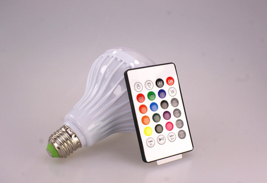 Smart LED Music Bulb- 13 colors, Save Energy & Play Music