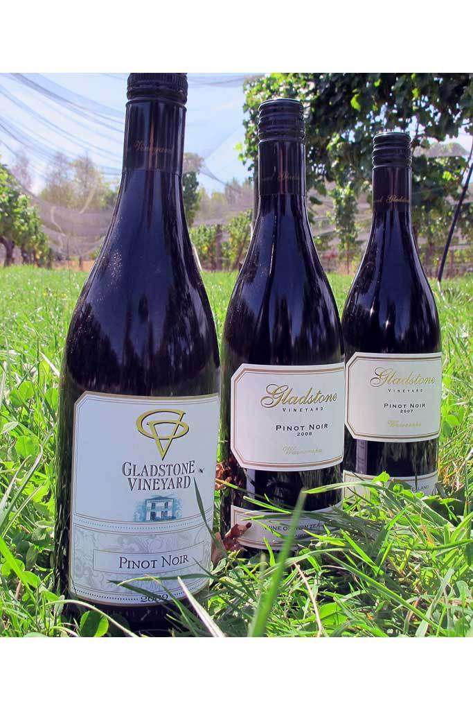 Estate Pinot Noir Vertical - 8 Bottles
