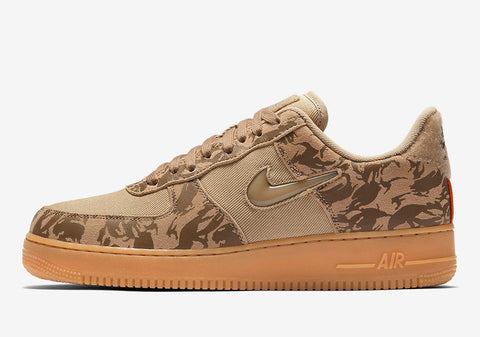 NIKE AIR FORCE 1 JEWEL LO (CAMO)