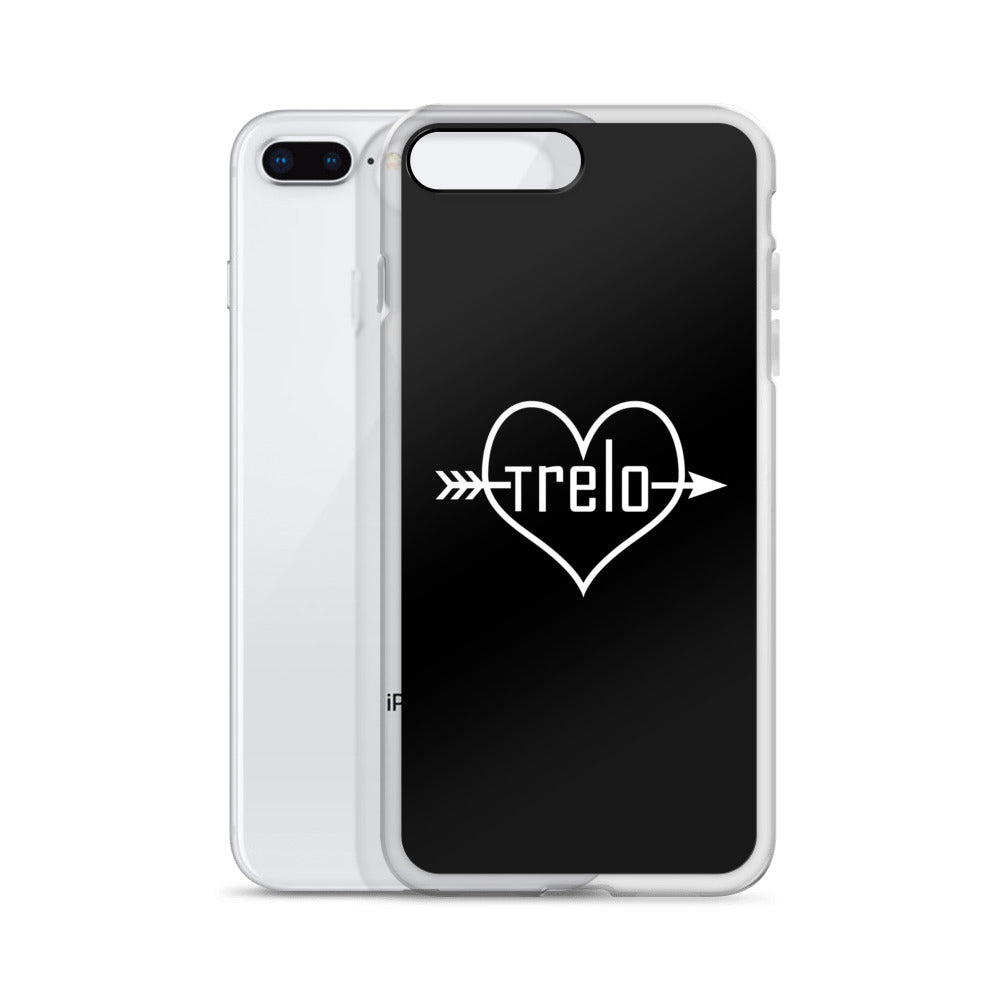 Tre & Alo Black iPhone Case