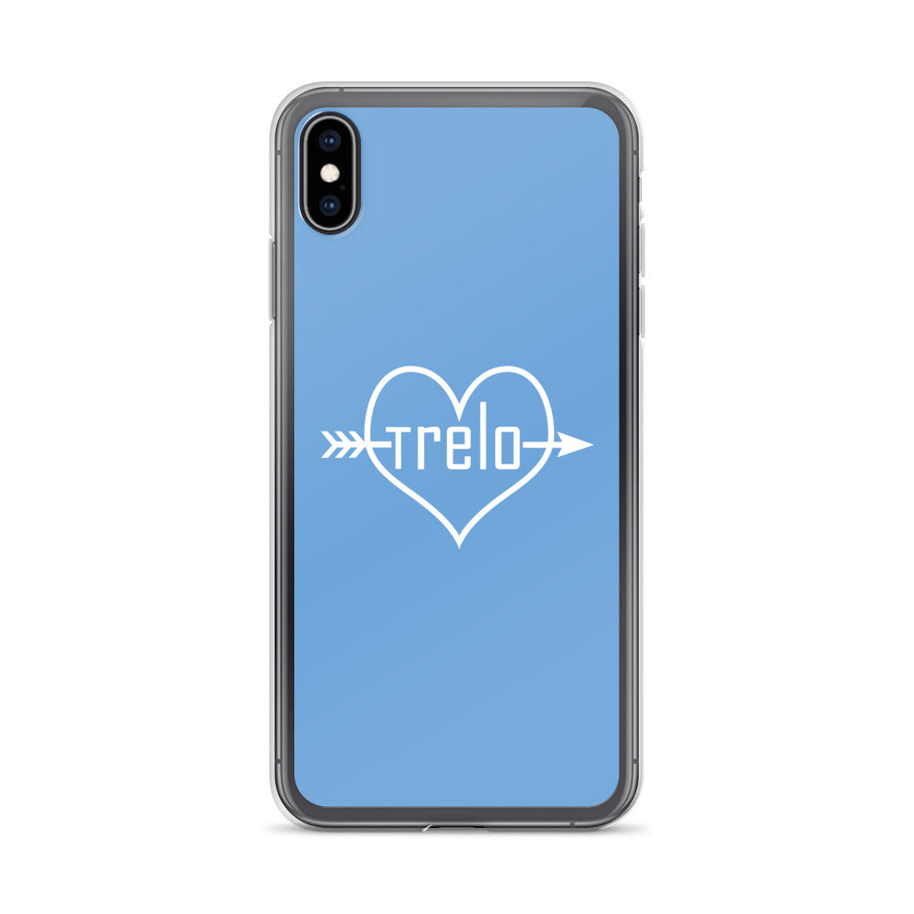 Tre & Alo Baby Blue iPhone Case