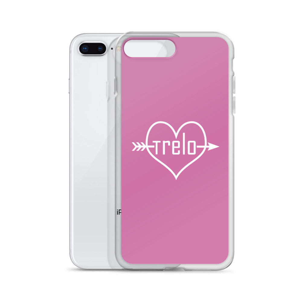 Tre & Alo Pink iPhone Case