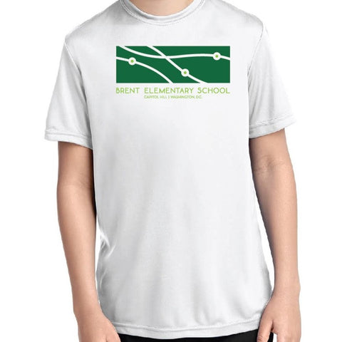 Short Sleeve White Dri-Fit T-shirt WHITE