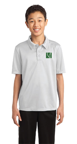 White Dri-Fit Polo Shirt