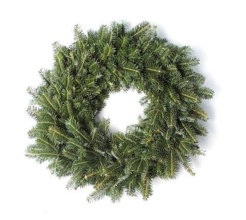 Fraser Fir Wreath, Undecorated