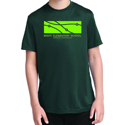 Short Sleeve Dri-Fit Performance Shirt GREEN