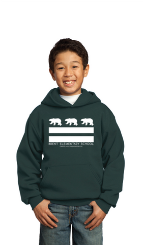 YOUTH Hooded Sweatshirt - DC Flag Brent Bears (PRE-Order)