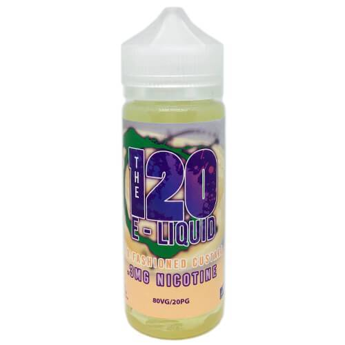 The 120 eLiquid - Old Fashioned Custard