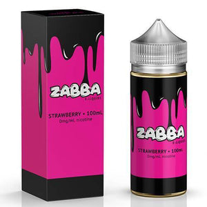 Zabba eLiquid - Strawberry Zabba