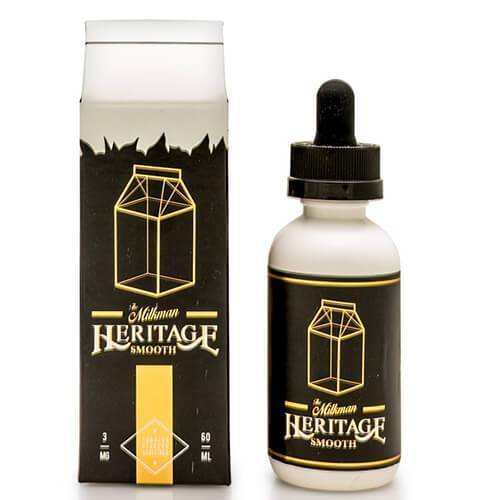The Milkman Heritage eLiquids - Heritage Smooth