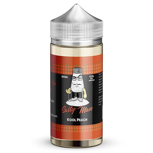 Salty Man Vapor eJuice - Kool Peach