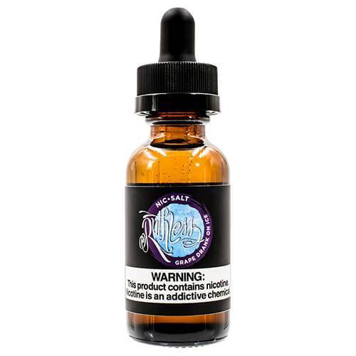 Ruthless Nicotine Salt - Grape Drank on Ice Nicotine Salt Eliquid