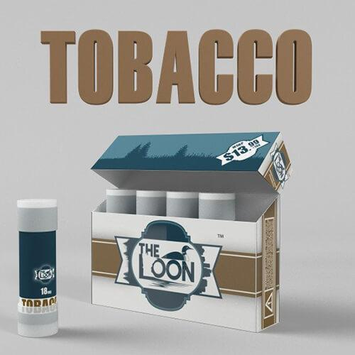 The Loon eCig - Reload Shot - Tobacco (5 Pack)