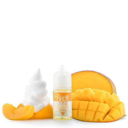 Nkd 100 Salt E-Liquid - Amazing Mango