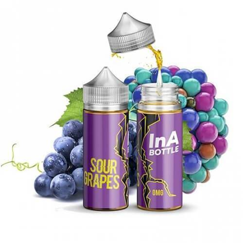 INA Bottle E-Liquids - Sour Grapes