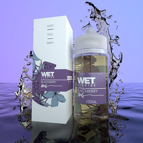 Wet Liquids - Blackberry eJuice