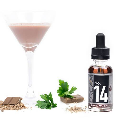 Dream E-Juice - #14 Toasted Manhattan (70% VG)