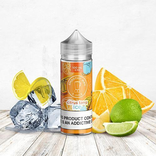 Smoothy Man E-Juice - Citrus Tang Ice