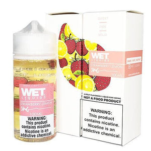 Wet Liquids - Strawberry Lemon eJuice