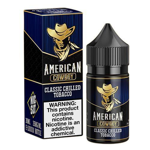 American Cowboy by Juice Man USA - Blue