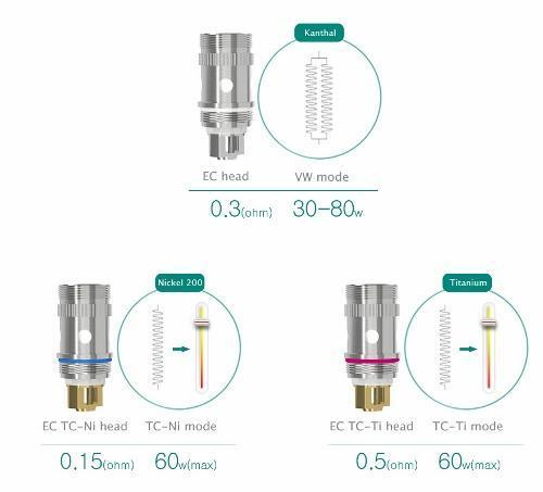 Eleaf Melo 2/ iJust 2 Atomizer Head