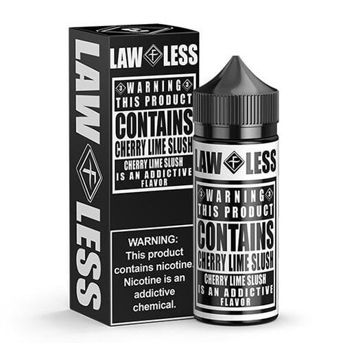 Warning eLiquid - Cherry Lime Slush