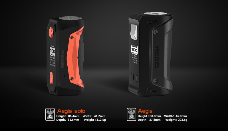 GeekVape Aegis Solo 100W Full Kit