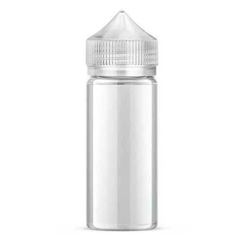 Chubby Gorilla Vaping Products - Clear Unicorn Bottle - 120ml