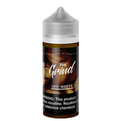The Grind E-Liquids - Off White (Vanilla Latte)
