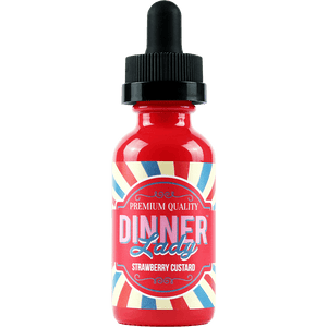 Dinner Lady Premium E-Liquids - Strawberry Custard - 60ml
