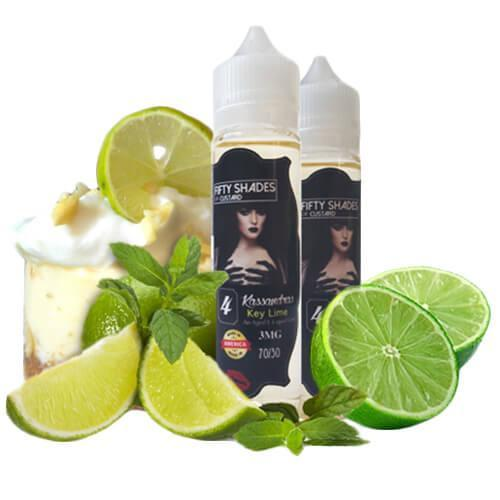 50 Shades of Custard eJuice - Kassandra's Key Lime